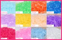 color rubber hair bands - 1000PCS Medium Size cm quot muli color Clear rubber Hairband for Rope Ponytail Holder Elastic Hair Band Ties Braids Plaits