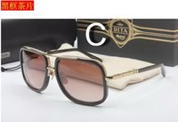 Wholesale Dita Sunglasses Men New Unisex Dita MACH ONE Sunglasses Women Brand Designer Sun Glasses Men Vintage Sunglass