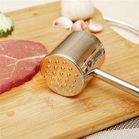 beef tenderizer - Hot Sales Meat Tenderizers Hammer Steak Beef Pounders Beater Poultry Mallet Tools Stainless Steel Circular C127