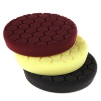 Wholesale 6Inch mm Hex Logic Perfection Micro Buff Polishing Pad Set For Car Polisher