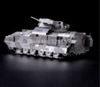 Wholesale M2 Bradley IFV kids Educational Baby Toys DIY D Jigsaw Puzzle Metallic Nano Puzzle D Metal Model scale models arams