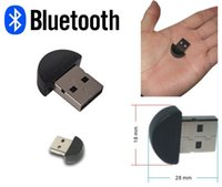 Wholesale 100pcs Bluetooth USB Dongle Adapter Mini Bluetooth Adapter V2 EDR USB for PC Laptop bluetooth adapter