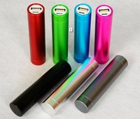 Wholesale USB Power bank mAh Metal Portable External Backup Battery For IPhone Samsung S5 S4 S3 all cellphones