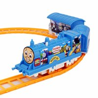 Wholesale On Sale Electric small train children train toy pathway rail car for kids tru boy models coches de juguete