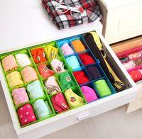 american organizations - Plastic Organizer Storage Box for Tie Bra Socks Drawer Cosmetic Divider Home Indoor Clean Organization Supplies