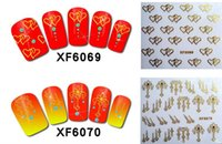 Wholesale 72 styles lovely D Nail Sticker Factory Direct