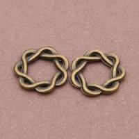 antique rope making - rope circle pendant charm pendant mm antique bronze fit bracelet necklace diy metal jewelry making