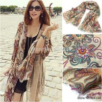 Wholesale 2015 Limited Horse European And American Style Winter Brand Designer Retro Totem Scarf Women Echarpes Long Scarves Shawl