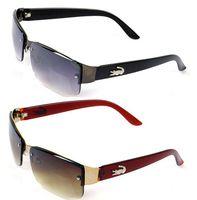 Wholesale 2015 New Fashion Square Sunglasses Men Driving Outdoors Sun Glasses Brand Designer Spors Crocodile Gafas Oculos De Sol Masculino