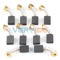 Wholesale 10 Motor Carbon Brushes Replacements For Power Tools mm x mm x mm order lt no track