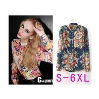 Cheap New 2015 blusas femininas shirt Women Blouse 2 color plus size blusa Casual Women Work Wear Tops S M L XL XXL XXXL XXXXL 5XL