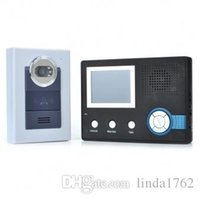 Wholesale 2 wireless color can see to speak that door bell takes a night to see black gray