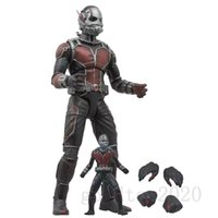 avengers exclusive - Marvel Select Unmasked Ant Man the Avengers Paul Rudd Exclusive Figure Loose