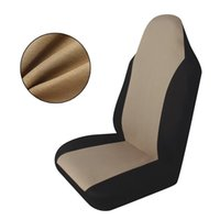Wholesale Durable Beige PC Single piece Versatile Car Front Seating Socket Sleeve Coverings Terylene Fabric With Hooks