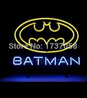 batman comics books - 2015 Hot Fashion Neon Sign New Batman Comic Book Hero Action Handcrafted Neon Light Sign Beerbar Sign x15 Quality Assurance