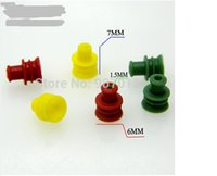Wholesale Silicone plugs silicone seals waterproof connector head waterproof car cover seal plug MM diameter