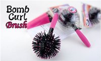 ball hair brush - High quality D ball curling hairbrush bomb blown dry heat Shun comb comb massage comb to relieve pressure on theHairdressing and hair tools