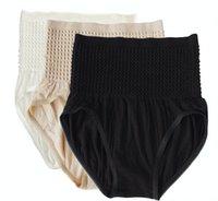 Wholesale Hot Soft and Comfortable Bamboo Fiber Seamless Panties Underwear Women High Waist Underwear Sexy Lingerie