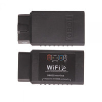 Wholesale ELM327 WIFI OBD2 EOBD Scan Tool Support Android And IPhone IPad Software V2 By