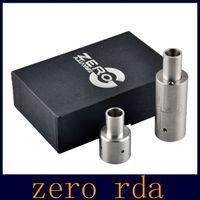 Derringer atomiseur Prix-Zero atomiseur RDA 5ML 23mm contrôle de l'air Dual Rouleau atomiseur SS cigarette électronique Vs derringer atomiseur rda