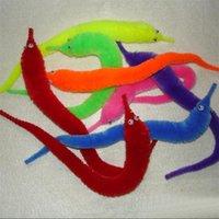 trick worms - 6pcs Plush Twisty Worm Wiggle Worm Magic Tricks Fuzzy Street Stage Magic Stuffed Animals Toys Hippocampus