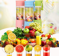 Wholesale 10PCS HHA478 Electric Juice Cup Lemon cup Mini Portable fruit vegetable Blender with USB charger Fresh fruit Carry cup Gifts water bottles