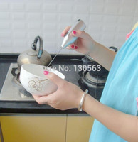 Wholesale Coffee Latte Hot Chocolate Milk Frother Whisk Frothy Blend Mixer Whisker