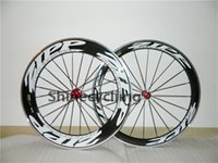 Wholesale Alloy braking surface carbon bike wheel mm clincher wheelset c glossy finish With Notacte hub