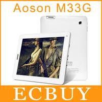 "Cheap Wholesale-Aoson M33 M33G Built-in 3G 9.7"" Retina Screen 2048x1536 Quad Core Tablet PC Rockchip RK3188 1.6Ghz 2GB 16GB ROM DHL"