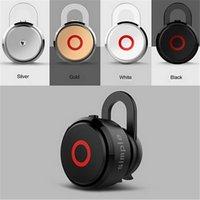 007 - Brand new Simple Mini Bluetooth Headset Mono ear hook Wireless Earphone with microphone Hands Bluetooth erphones headset