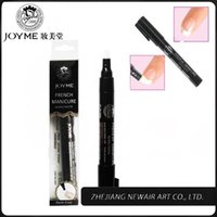 nail art pen - Joyme Brand French Manicure Pen High Quality Pro Nail Polish Pen Instant Nails Art Equipment Tools A5