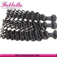 Cheap Cheap Hair Extentions London Balmain Hair Grade 6A Malaysian Curl Hair Deep Wave Can Be Dyed Bleached any Color
