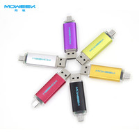 Wholesale MOWEEK M31 Fashion colorfull smart phone usb stick GB OTG usb flash drive usb pen drive gift cheap memory stick