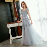 dressing and bandages - 2016 Best Buy Especially for Girls Vintage and Elegant Evening Dresses with Applique Flower and Tulle Design Runway Show Party Gowns