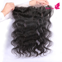brazilian lace closure - Brazilian Lace Frontals Unprocessed Cheap Lace Frontal Closure Bundles Body Wave Ear To Ear Lace Frontal Bleached Knots