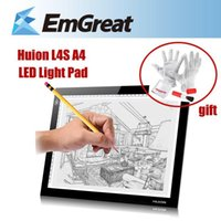 Wholesale New HUION L4S A4 Graphic Drawing Tablets LED Drawing Tablet Light Pad Trackpad Painting Plates Tablet Gift P0014332