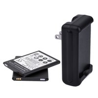 Cheap 2x 3.7V 3500 mAh Repacement External Galaxy Note 2 II Battery Rechargeable For Samsung Galaxy Note2 N7100 With AC Charger