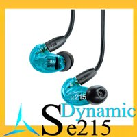 Wholesale Shuring se215 in ear dynamic earphone Noise Cancelling earphones Experience Balance Armature earbud moving coil earbuds for iphone