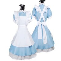 alice blue fancy dress - Halloween Maid Costume Alice In Wonderland Sexy Maids Outfit Fancy Dress Cosplay