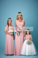 amanda gray - Pink Plus Size Bridesmaids Dresses Spring Amanda Wyatt Royal Blue Empire Waist Maid Of Honor For Junior Bridesmaids Dresses Little Kid