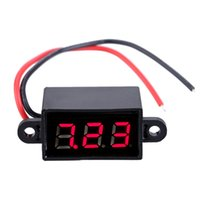 Wholesale 3 V amperimetro voltage Tester Mini Water proof Voltmeter Digital High accuracy LED Screen Voltage Meter Voltimetro