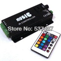 audio export - DC V Input Keys LED RGB Audio Music Controller for SMD Strip Lights Shenzhen Factory Exports