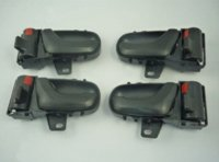 metro pcs - 4 Inside Door Handles Front Rear Left Right E00 ES E005ES For Geo Metro Suzuki Swift DHSU102LRX2