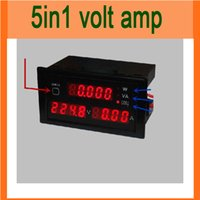active powered monitors - AC V A Monitor Meter Digital Voltage Current Active Power Apparent Power Power Factor Meter in1