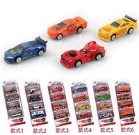 Wholesale 8pcs set Designs Cars Children Boys Man Model Toys Christmas New Year Gifts Diecast Cars Model Vehicle Car D2984