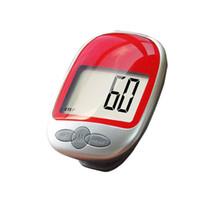 Wholesale LCD Run Step Pedometer Walking Distance Calorie Kilometer Miles Counter Passometer Large Screen B2C Shop