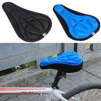 Wholesale High Quality Bicycle Saddle Bicycle Parts Cycling Seat Mat Comfortable Cushion Soft Seat Cover for Bike HW045