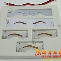 abc type - Detailed ABC Type Styles Eyebrow Stencil Template Mold