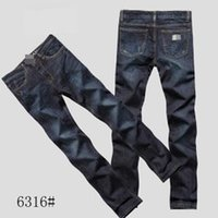 name brand jeans - Brand Name Denim Jeans Men Classic Straight Cotton Men s Jeans AMN