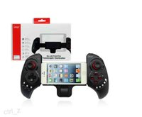 Wholesale iPega PG Wireless Bluetooth Game Pad Controller For Cellphone iphone samsung ipad Tablet iPod PC Black